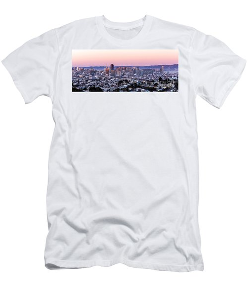 Sunset Cityscape Men's T-Shirt (Athletic Fit)