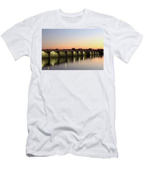 Sunset Hues Men's T-Shirt (Athletic Fit)