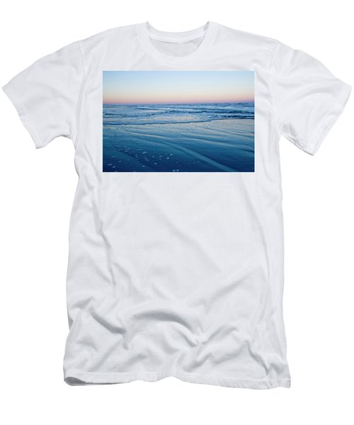 Sunset On A Beach In The Gulf Of Mexico Men's T-Shirt (Athletic Fit)