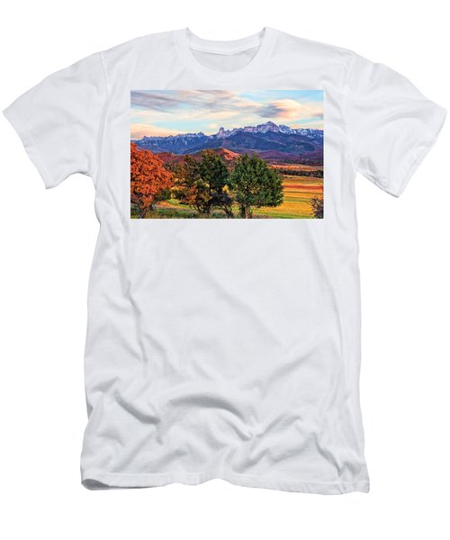 Sunset Over Owl Creek Pass Men's T-Shirt (Athletic Fit)
