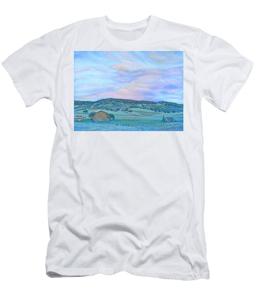 Sunset Over Table Mountain Men's T-Shirt (Athletic Fit)