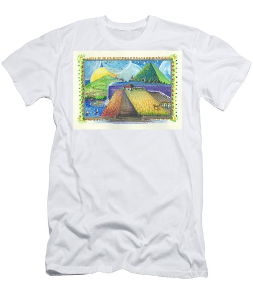 Surreal Landscape 1 Men's T-Shirt (Athletic Fit)