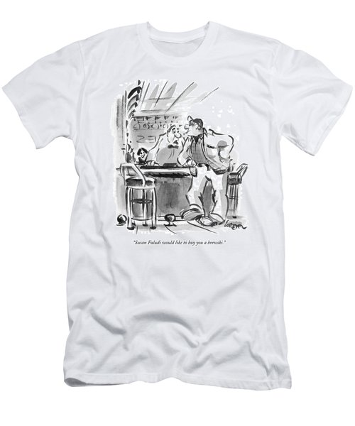 Susan Faludi Would Like To Buy You A Brewski Men's T-Shirt (Athletic Fit)