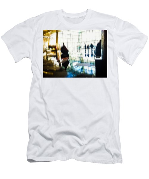 Men's T-Shirt (Slim Fit) featuring the photograph Suspended In Light by Alex Lapidus