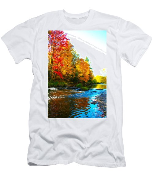 Sweet Serenity Men's T-Shirt (Slim Fit) by Tiffany Erdman