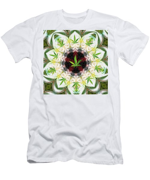 Sweetleaf Mandala Men's T-Shirt (Athletic Fit)