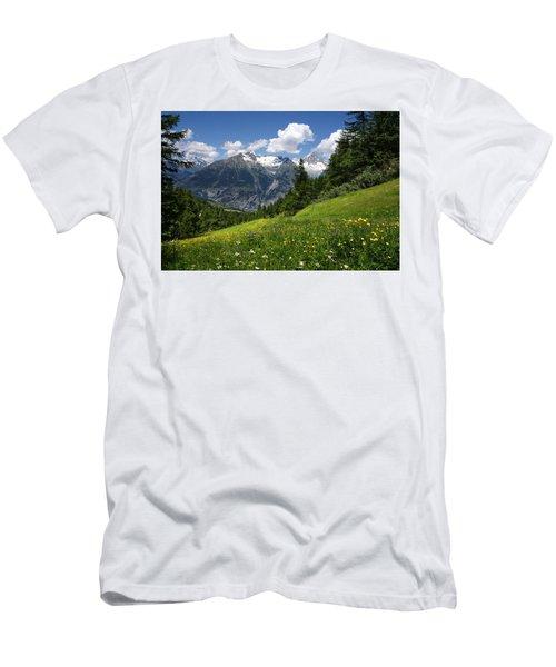 Switzerland Bietschhorn Men's T-Shirt (Athletic Fit)