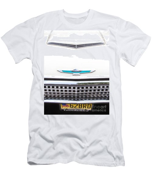 T-bird Hood Men's T-Shirt (Athletic Fit)