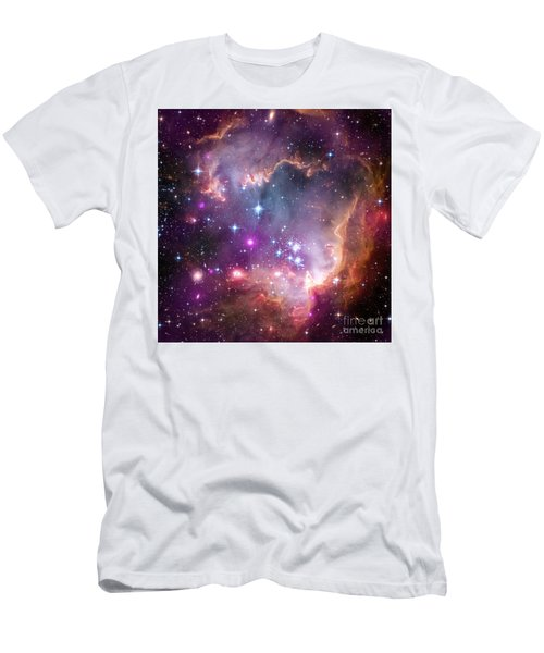 Men's T-Shirt (Slim Fit) featuring the  Taken Under The Wing Of The Small Magellanic Cloud by Paul Fearn
