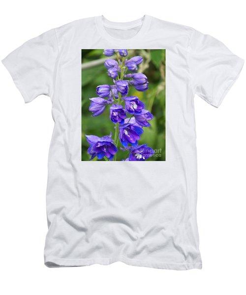 Men's T-Shirt (Slim Fit) featuring the photograph Tall Garden Beauty by Eunice Miller