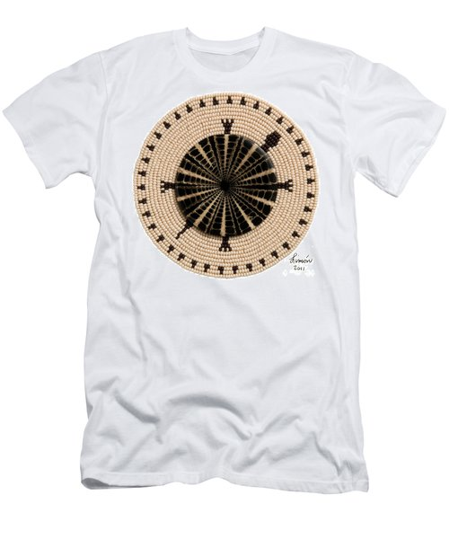 Tan Shell Men's T-Shirt (Athletic Fit)