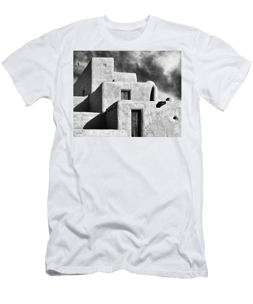 Taos Pueblo Stacks Men's T-Shirt (Athletic Fit)