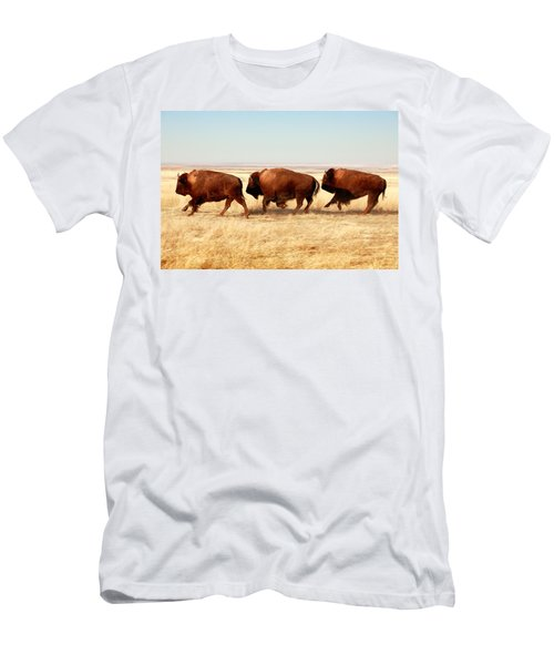 Men's T-Shirt (Athletic Fit) featuring the photograph Tatanka by Todd Klassy