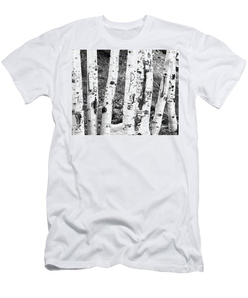 Tattoo Trees Men's T-Shirt (Athletic Fit)