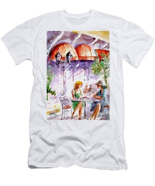 Tea Time...  Men's T-Shirt (Slim Fit) by Faruk Koksal