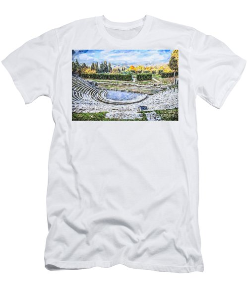 Teatro Romano Fiesole Tuscany Men's T-Shirt (Athletic Fit)