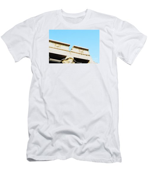 Men's T-Shirt (Slim Fit) featuring the photograph Temple At Luxor by Cassandra Buckley