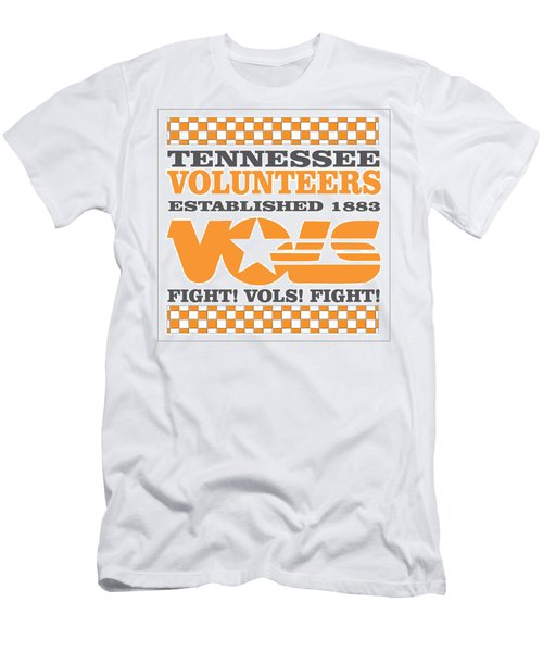 Tennessee Volunteers Fight Men's T-Shirt (Athletic Fit)
