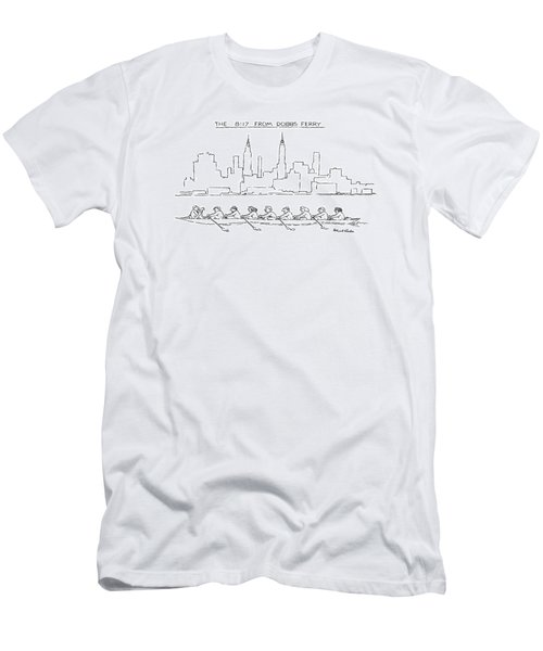 The 8:17 From Dobbs Ferry Men's T-Shirt (Athletic Fit)