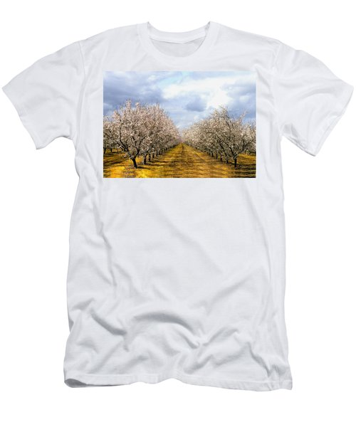 The Almond Orchard Men's T-Shirt (Athletic Fit)