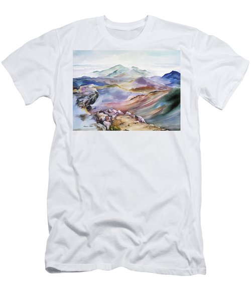 The Apex Of Mountain Men's T-Shirt (Athletic Fit)