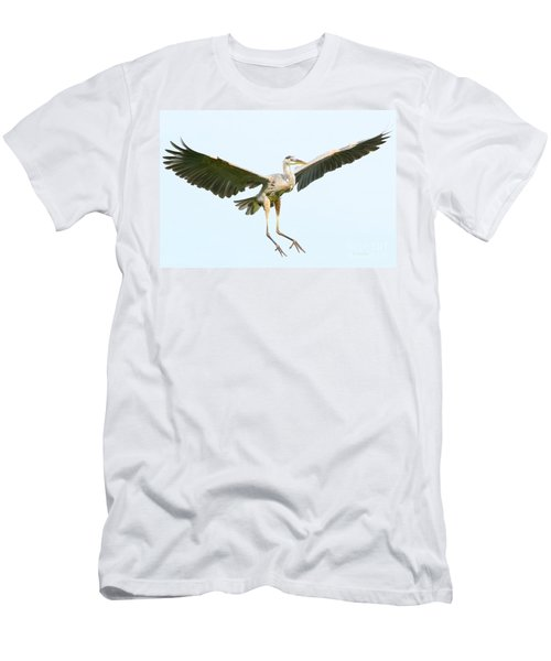 Men's T-Shirt (Slim Fit) featuring the photograph The Arrival by Heather King