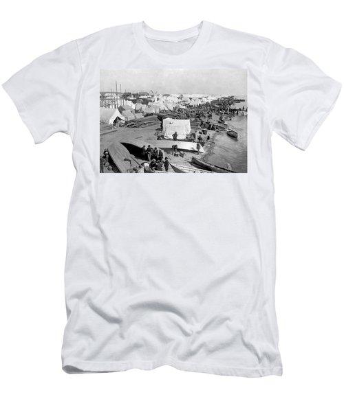 The Beach At Nome, Alaska, Men's T-Shirt (Athletic Fit)