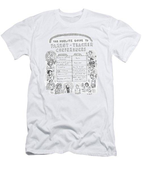 'the Berlitz Guide To Parent-teacher Conferences' Men's T-Shirt (Athletic Fit)