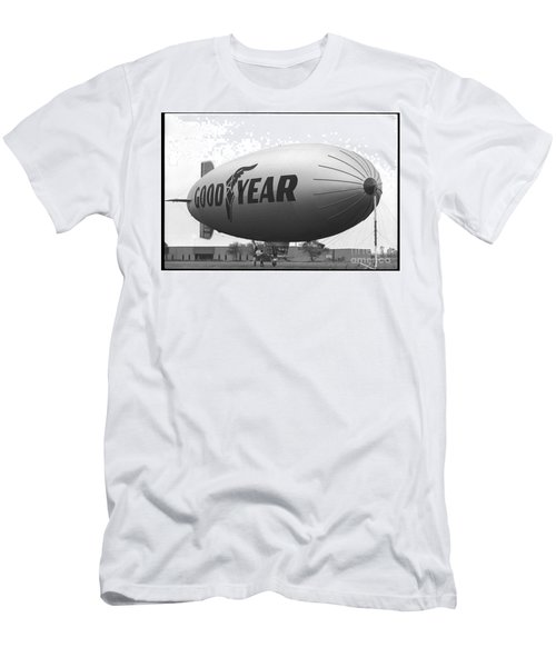 The Goodyear Blimp In 1979 Men's T-Shirt (Athletic Fit)