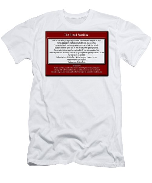 The Blood Sacrifice Men's T-Shirt (Athletic Fit)