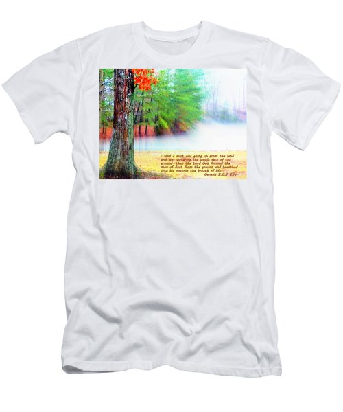 The Breath Of Life Men's T-Shirt (Athletic Fit)