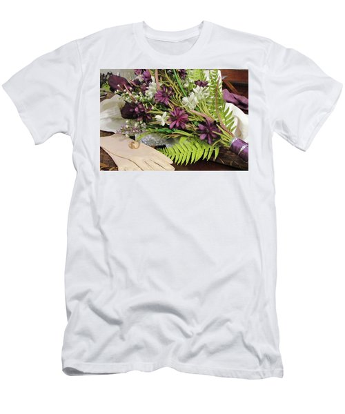 Men's T-Shirt (Slim Fit) featuring the photograph The Bride To Be by Cynthia Guinn