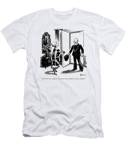 The Bride Was Radiant Men's T-Shirt (Athletic Fit)