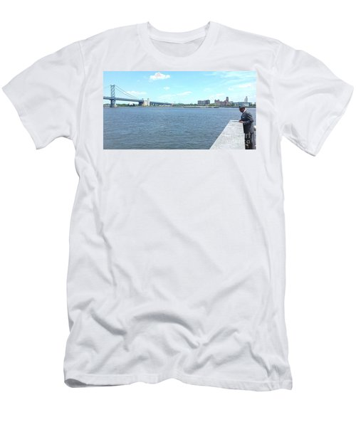 The Bridge And The River Men's T-Shirt (Athletic Fit)