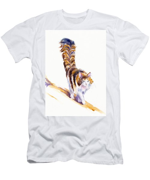 The Calico Cat That Walked By Himself Men's T-Shirt (Athletic Fit)