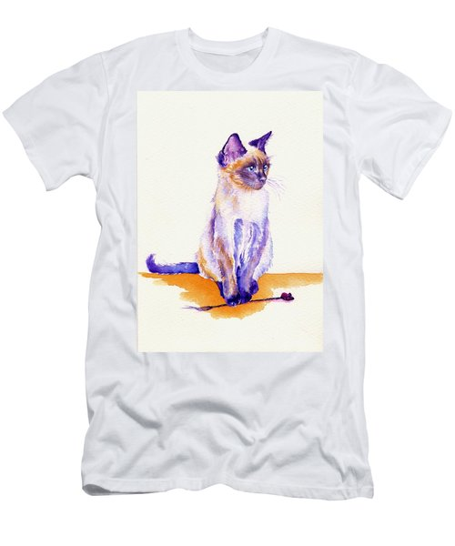 The Catmint Mouse Hunter Men's T-Shirt (Athletic Fit)