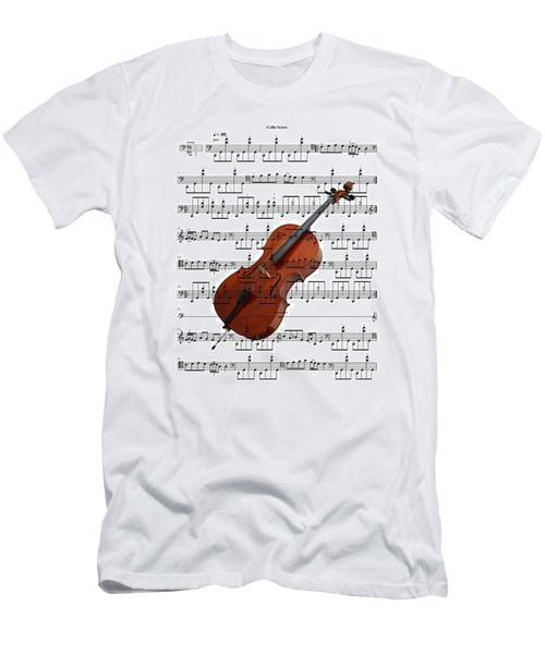 The Cello Men's T-Shirt (Athletic Fit)