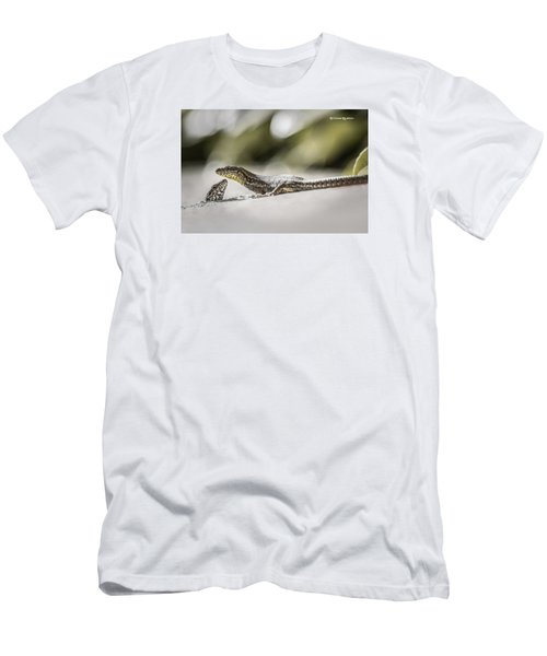 Men's T-Shirt (Athletic Fit) featuring the photograph The Charming Lizards by Stwayne Keubrick