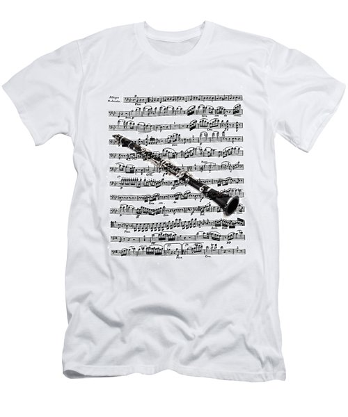 The Clarinet Men's T-Shirt (Slim Fit) by Ron Davidson