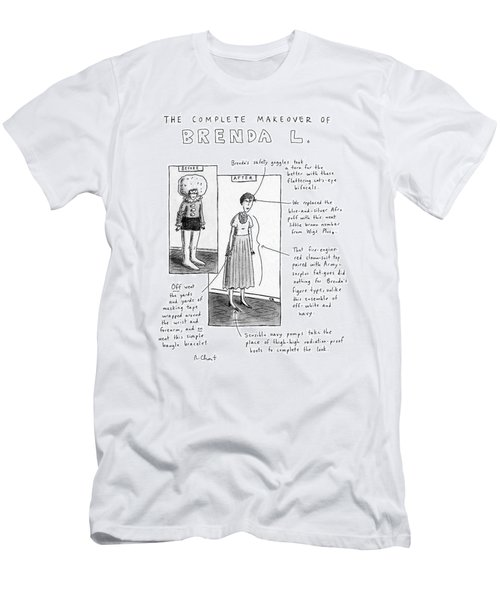 The Complete Makeover Of Brenda L Men's T-Shirt (Athletic Fit)