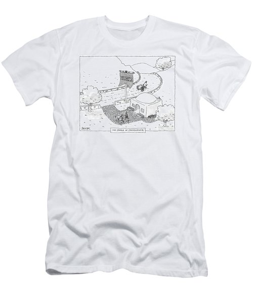 The Cradle Of Convenience Men's T-Shirt (Athletic Fit)