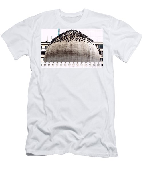 Men's T-Shirt (Slim Fit) featuring the photograph The Dome Of The Mosque by Ethna Gillespie