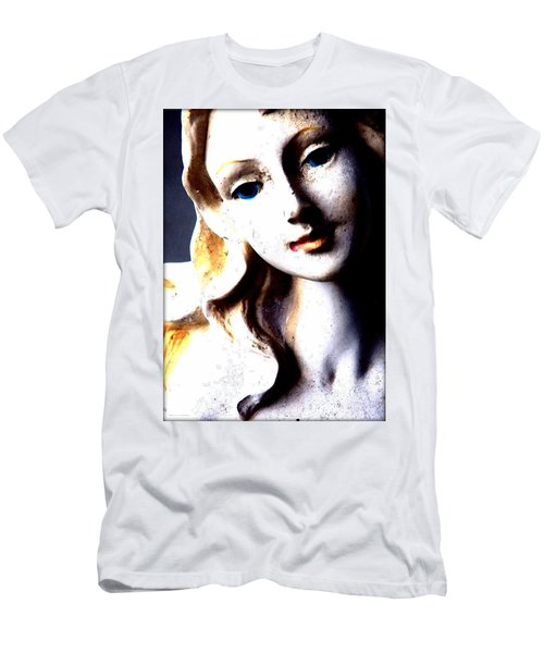 The Face Of A Woman Men's T-Shirt (Athletic Fit)