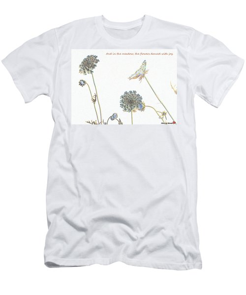 The Flowers Danced Men's T-Shirt (Athletic Fit)