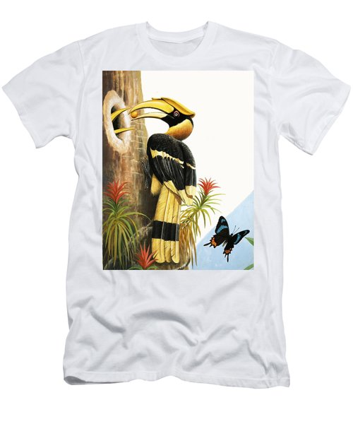 The Hornbill Men's T-Shirt (Athletic Fit)