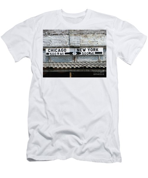 The Intersection II Men's T-Shirt (Athletic Fit)