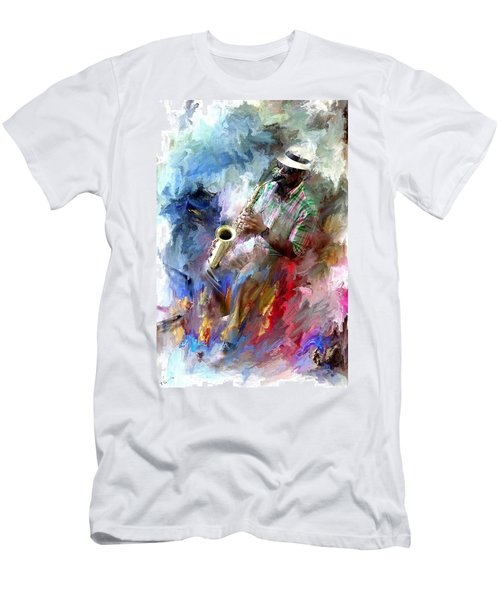The Jazz Player Men's T-Shirt (Athletic Fit)