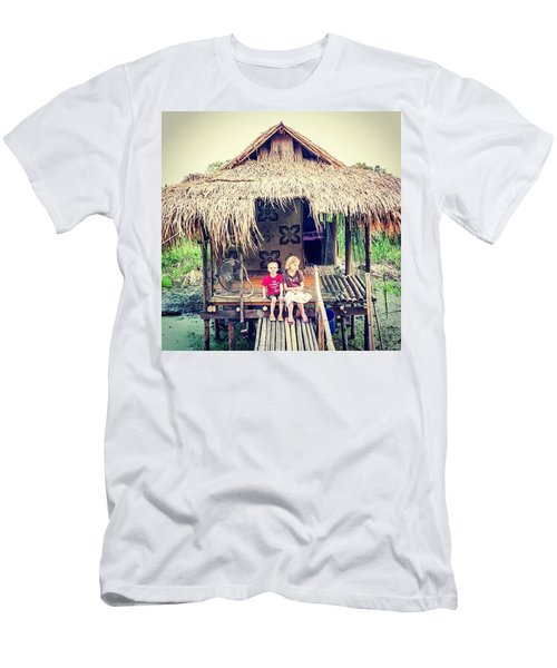 The Kids In Thailand Men's T-Shirt (Athletic Fit)