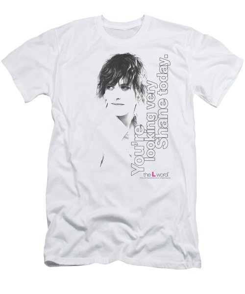 The L Word - Looking Shane Today Men's T-Shirt (Slim Fit)