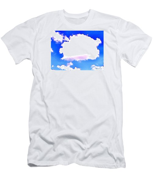 Men's T-Shirt (Slim Fit) featuring the photograph The Little White Cloud That Cried by Sadie Reneau